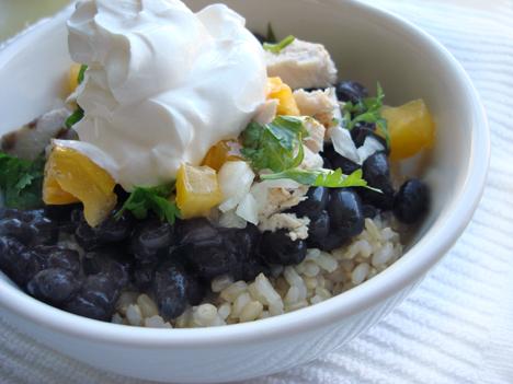 Recipe: Black bean and chicken breakfast burrito bowl (Covenant ...
